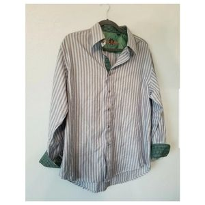 Large Robert Graham Striped Long Sleeve Shirt